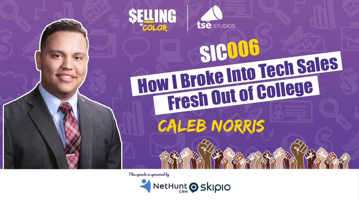 Caleb Norris, BDR, sales legacy