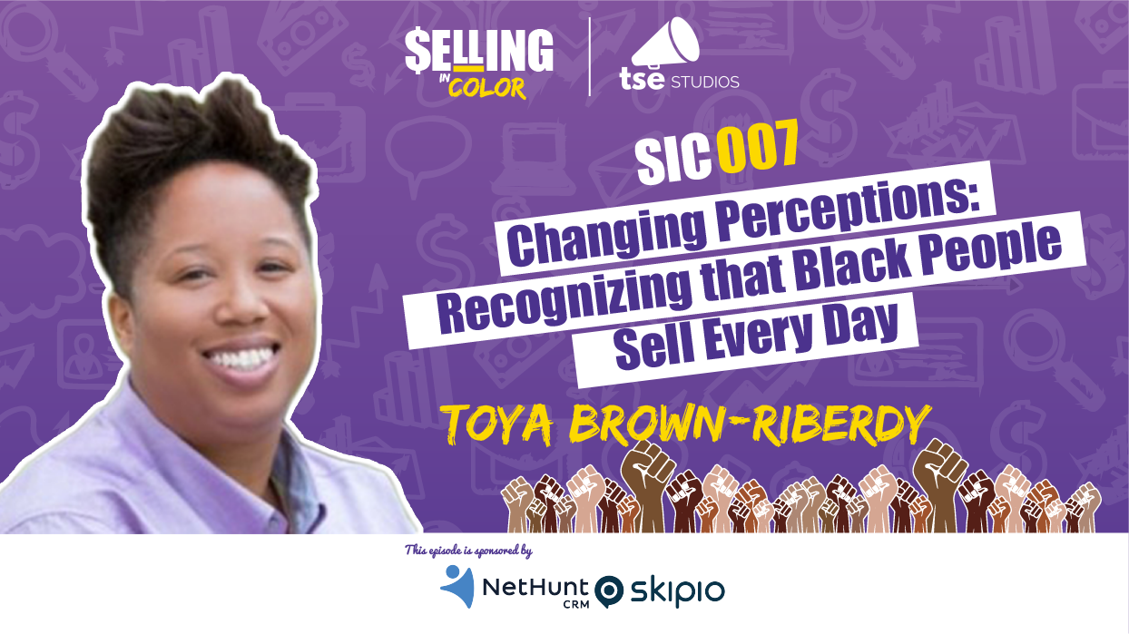 Toya Brown-Riberdy, Donald Kelly, Black people Sell Everyday