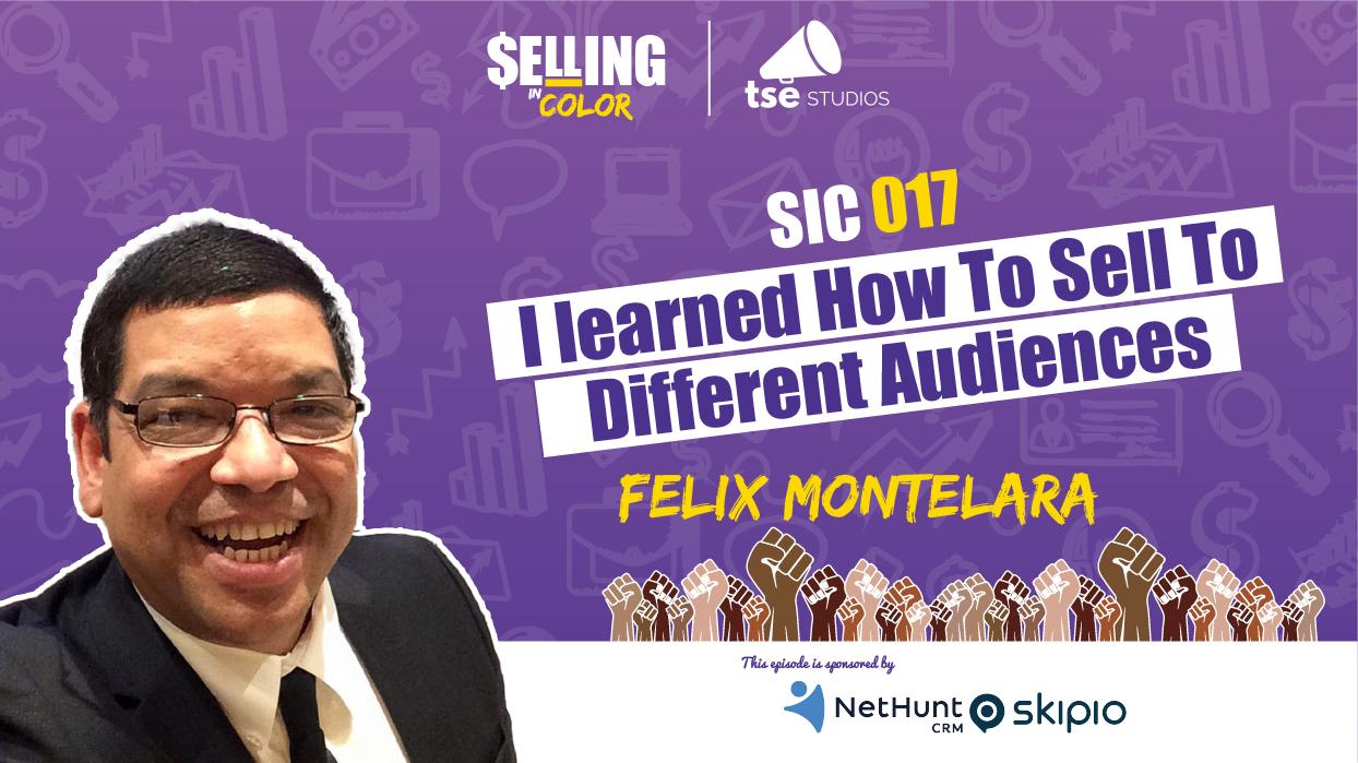 Donald Kelly, Felix Montelara, challenges selling as a Latino