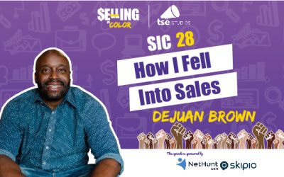 SIC 028: DeJuan Brown – How I Fell Into Sales